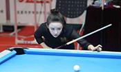 世界九球中国公开赛潘晓婷淘汰
