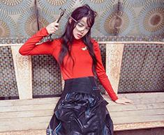 娜娜展时尚俏皮