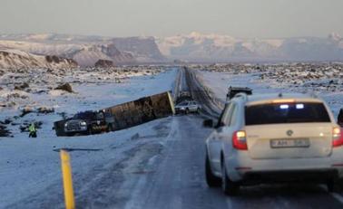 40名中国游客大巴冰岛发生车祸