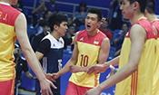 世界男排联赛中国队收获两连胜