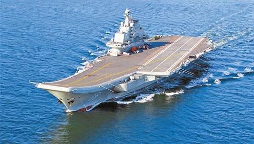 我国第二艘航空母舰下水!