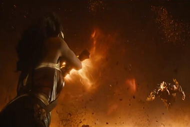 神奇女侠 VS BOSS,生死对决