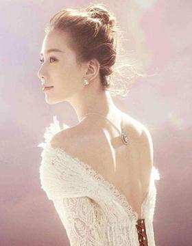 刘诗诗美到发光!