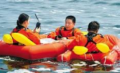 中国航天员海上救援训练曝光