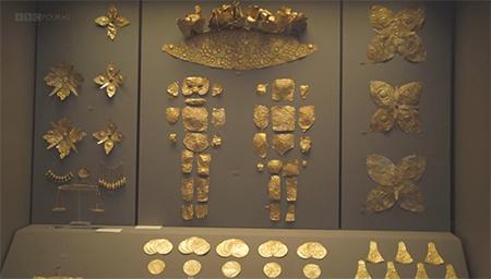 迈锡尼古墓里究竟有多少令人瞠目的黄金制品?