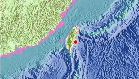 台湾台东县发生5.6级地震