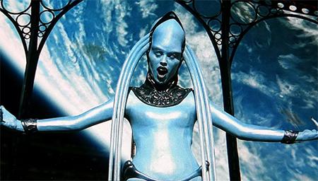 第五元素外星人女高音, 女神之舞!