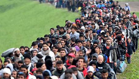 王毅就中东难民问题谈中方立场