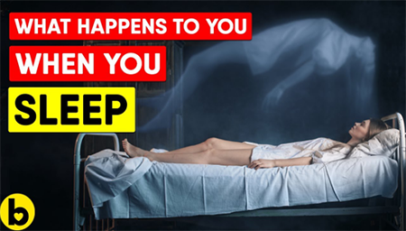 睡觉时,我们的身体会发生哪些变化呢?
