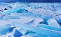 俄罗斯天降罕见蓝雪