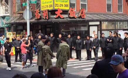 《唐人街探案2》现场照曝光