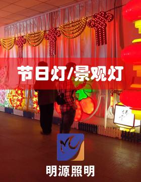 明源照明专业生产节日灯景观灯