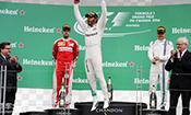 F1加拿大站:汉密尔顿夺冠