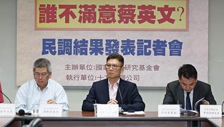 台湾民调:民众不信任蔡当局