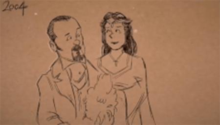 感人!迪士尼动画师用动画悼念亡妻,记录生活