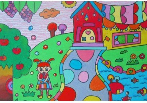画一幅关于家乡的画内容|画一幅关于家乡的画图片图片