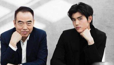 陈凯歌和儿子陈飞宇罕见同框
