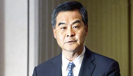 专访香港特区行政长官梁振英