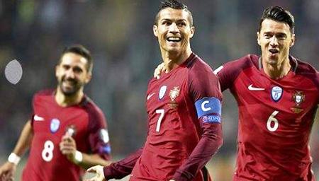 【世预赛】C罗独中两元 葡萄牙大胜而归