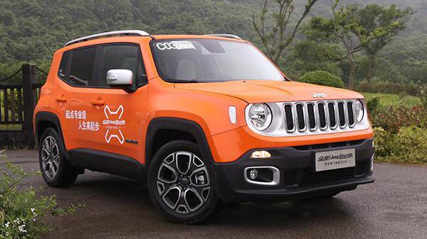 新车评网试驾Jeep自由侠