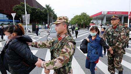 公安部严厉打击粤港边界偷渡违法活动