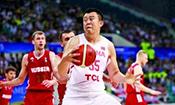 中国男篮蓝队憾负俄罗斯
