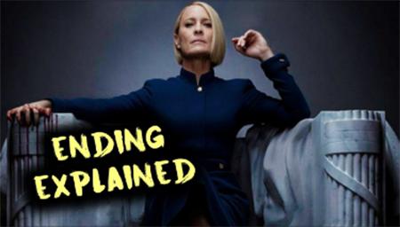 <纸牌屋>第6季大结局解析,这个女人有点狠