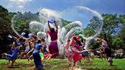 云南景谷泼水节
