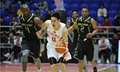 中美高中生篮球友谊赛清华负AA