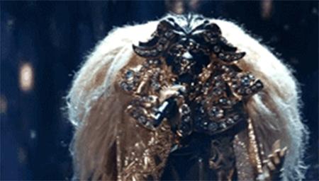 美版蒙面歌王抢先看,声似嘎嘎的狮子女会是谁?