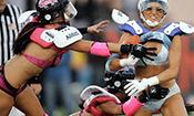 美国LFL内衣碗女子橄榄球赛