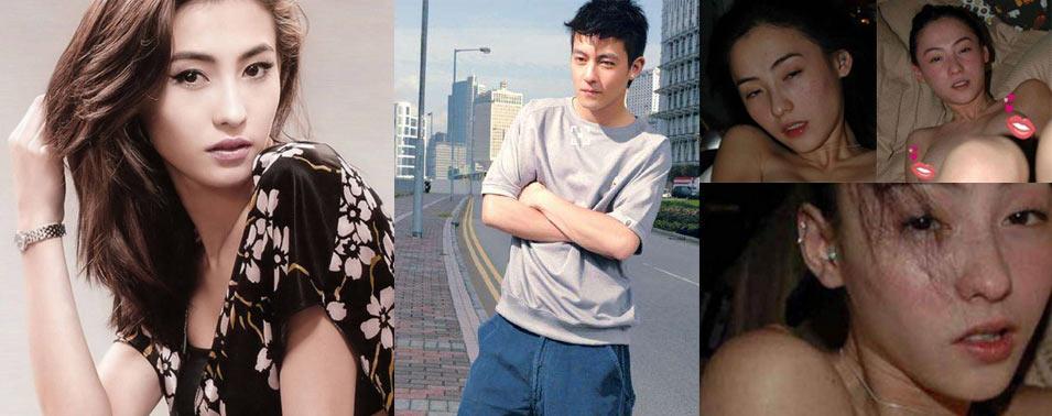 张柏芝首次公开与陈冠希拍照原因