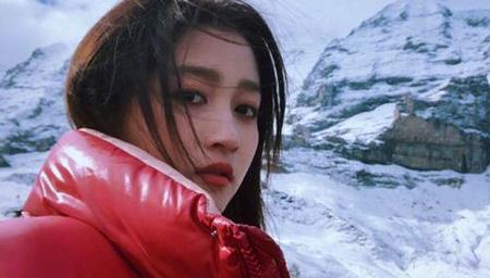 关晓彤在法国雪山顶与鹿晗视频聊天