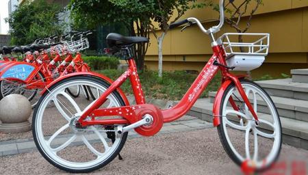 杭州首发新型智动公共自行车