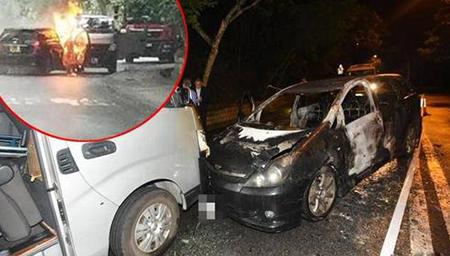 劫匪当街撞停货车 抢走580万港币