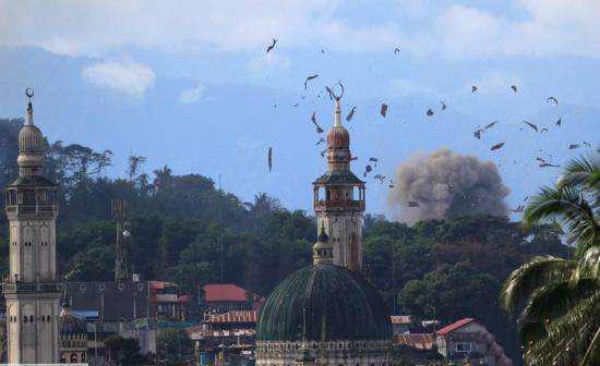 菲律宾总统宣布成功解放马拉维