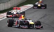 F1摩纳哥站第二次练习赛