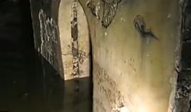 辽代公主墓遭洪水浸泡面临坍塌