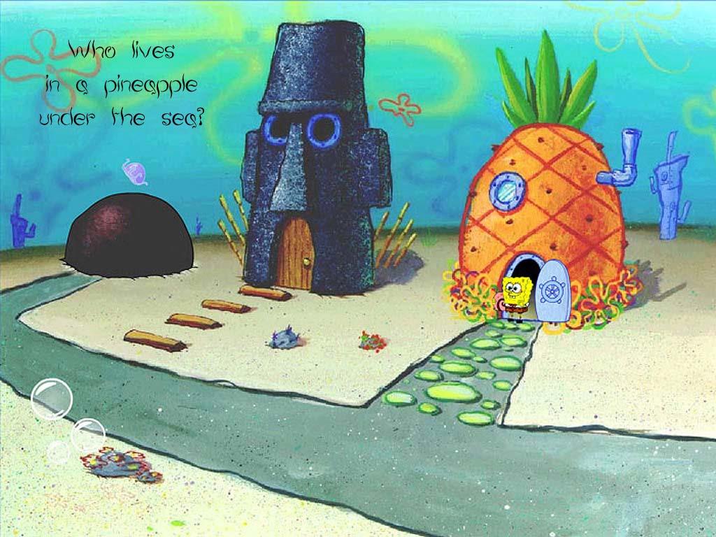 章鱼哥 得房子 屋 章鱼哥的房子 海绵宝宝 比基尼海滩 菠高清图片