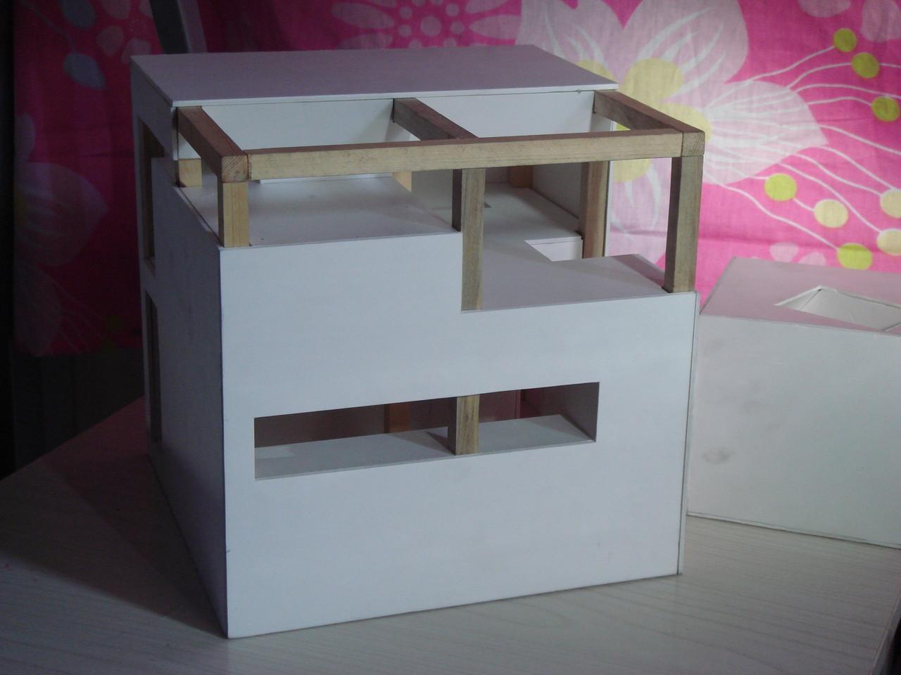块面立体构成 块立体构成作业图片 立体构成柱体分解图