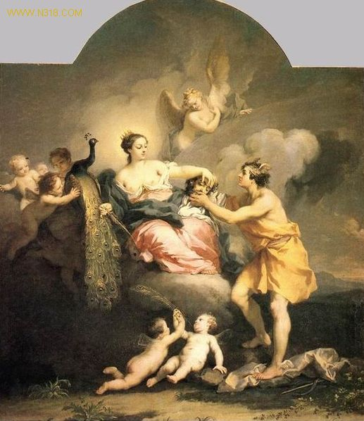 希腊神话中的女神