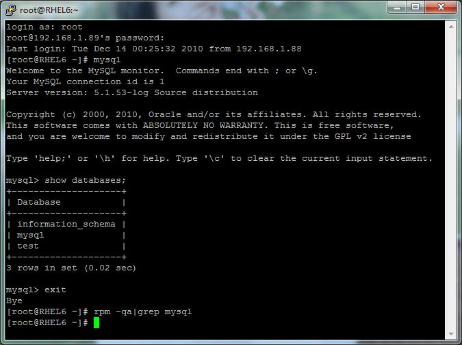 RHEL6 安装mysql源码包 mysql-5.1.53.tar.gz - JIM.ROCK - JIM.ROCK的博客