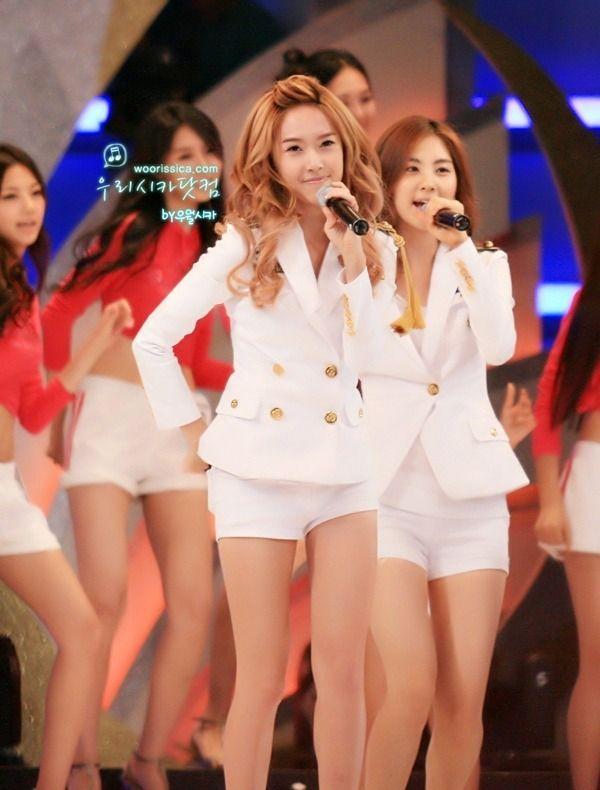 韩国十大美女歌手之jessica