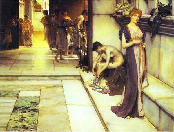 贴图】画家笔下的古罗马第五季:苔玛与罗马美女