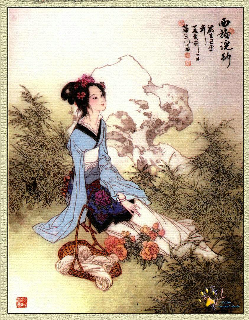中国古代四大美女之首――西施:【纯种百越女】!