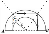 体内射粹�b��.�)�h�_且与a,b端面都垂直,所以光线在透明柱体内全反射时的入射角均为45°.