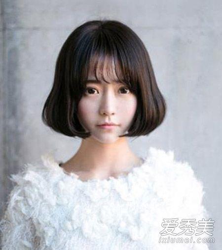 空气刘海适合什么脸型 不同脸型对着看图片