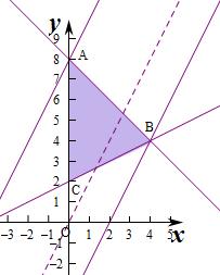 logm��a�Y��i�����_若变量x,y满足约束条件,且z=-2x y的最大值为m,最小值为n,则logm(-n)=