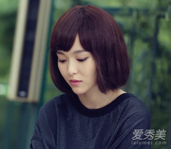 摘掉短发头套!唐嫣长发发型美美哒图片