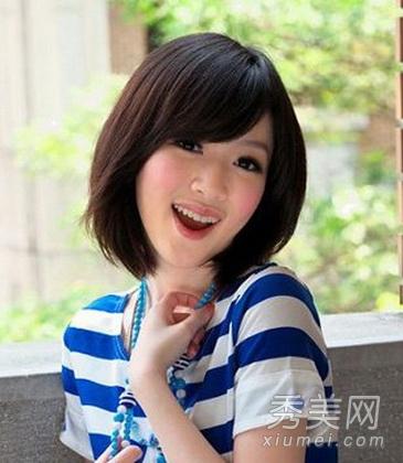 com 短发发型图片,2012流行发型,打造今年最流行的发型,清新甜美的图片